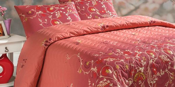 Sada přehozu přes postel a polštáře Sultana, 200x220 cm