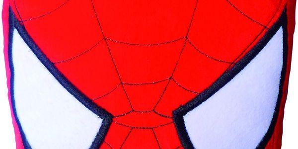 Polštářek 3D maska Spiderman 38cm