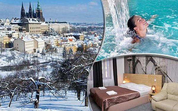 Luxusní wellness a ubytování v apartmánech Anděl v centru Prahy