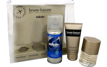 Dárková kazeta Bruno Banani Man Eau De Toilette + sprchový gel + Gillette gel na holení 30 ml + 50 ml + 75 ml