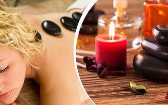 Dopřejte si relaxaci v podobě uvolňující masáže.Masáž lávovými kameny v délce 60 minut.Vhodné pro muže i ženy.
