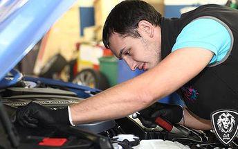 Kupón na 77% slevu na kompletní servisní prohlídka vozu v Art Garage