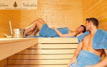 Kupón na 50% slevu na 90 minut v privátní sauně pro dvě osoby