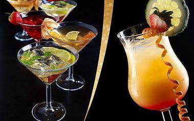 Kupón na 50% slevu na až tři koktejly dle výběru v nově otevřeném baru Nakashi v centru Prahy