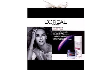 Dárková sada L'Oréal Paris Revitalift Filler HA denní krém + micelární voda 50 ml + 200 ml
