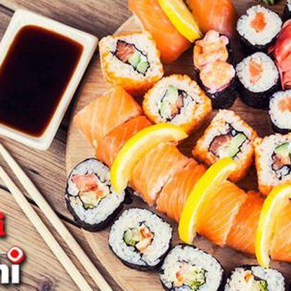 Sleva 50 % na sushi a ostatní japonská jídla v restauraci Sushi Oishi