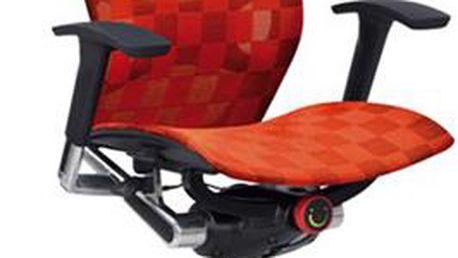 Autronic Kancelářská židle KA-2020 ORA, oranžová