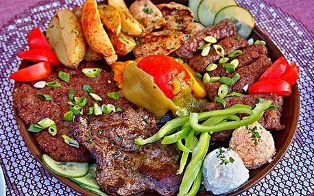 Sleva 30 % na veškeré masové speciality v balkánské restauraci Boka