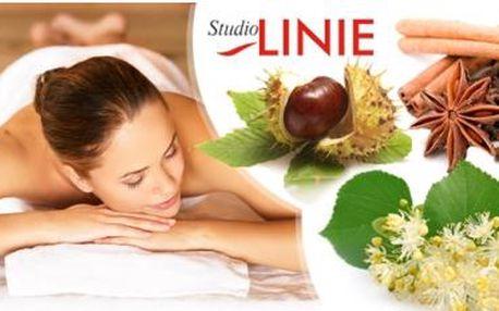 Aroma masáž v délce 45 nebo 60 minut. Výběr z 10 druhů netradičních masáží - lipová, kaštanová, chilli aj.