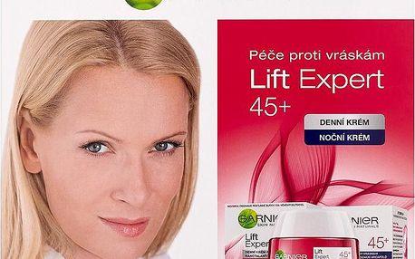 Dárková sada Garnier Lift Expert 45+ denní a noční krém 50 ml + 50 ml