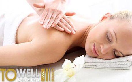Kupón na 69% slevu na 60minutovou zdravotní masáž s odblokováním na klinice Towell
