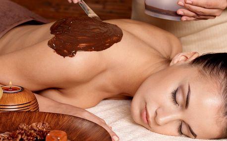 Hřejivá čokoládovo-lávová masáž