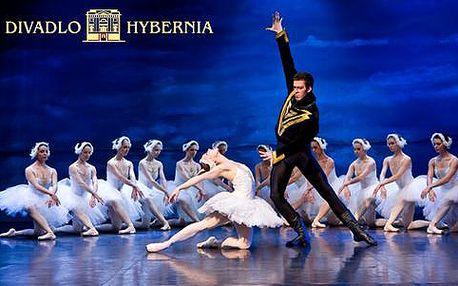 Baletní představení Labutí jezero v divadle Hybernia