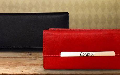Kožené dámské peněženky Loranzo