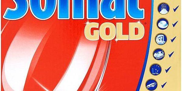 Somat Gold Tablety pro automatické mytí nádobí 55 ks 1045 g