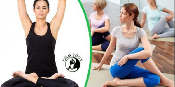 Kupón na 40% slevu na Hot jógu v Domě Jógy na Vinohradech