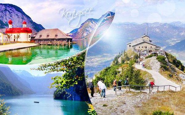 Německo - Orlí Hnízdo a jezero Konigsee! 1denní zájezd pro 1 osobu včetně průvodce v květnu nebo červnu!
