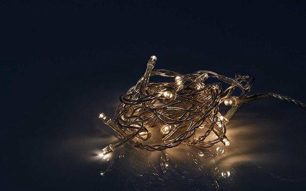 HAPPY HOLIDAYS LED Světelný řetěz 24 světel