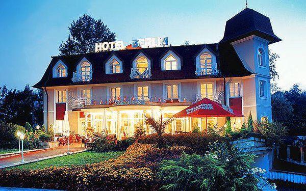 3 dny pro dva s polopenzí a solnou jeskyní v Mariánkách v hotelu Berlín
