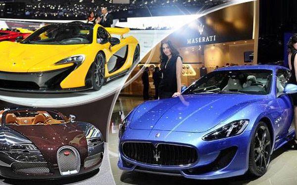 Ženeva - AUTOSALON! 3denní březnový zájezd pro 1 osobu včetně vstupenky na nejznámější auto show z Prahy!