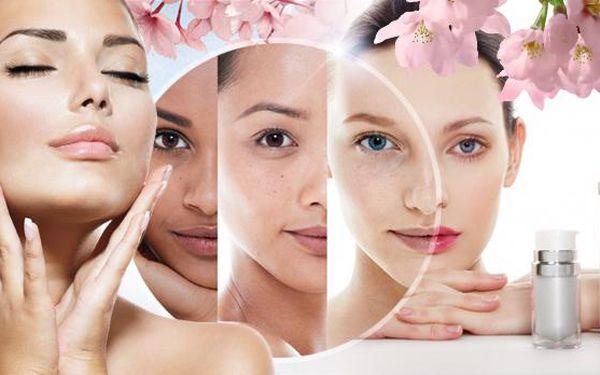 Kosmetické ošetření pleti s na míru mixovanými séry a krémy. Masáž, maska, radiofrekvence - ošetření BIO kosmetikou.