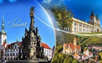 Historická Olomouc! 3denní víkendový pobyt pro 2 osoby s polopenzí, atrakcemi a platností do 31.3.2016!