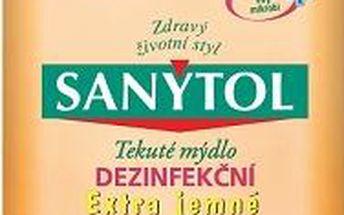 Sanytol dezinfekční mýdlo extra jemné 250 ml