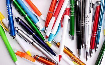 Mix 50 kusů psacích potřeb
