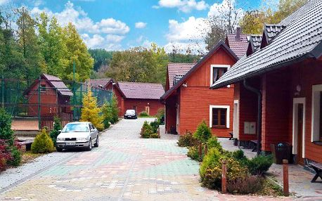 3–5denní pronájem horské chaty v komplexu Avalanche v Jeseníkách pro 2 až 12 osob