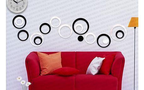 Designové kroužky na zeď - ozdobte si své bydlení - VÝPRODEJ!