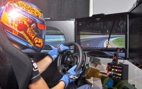 Adrenalinová jízda na simulátorech pro partu