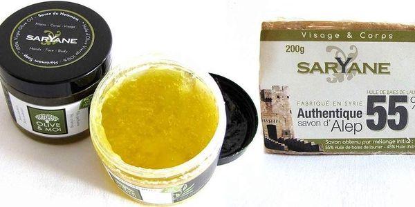 Orientální mýdla Saryane z vavřínového a olivového oleje
