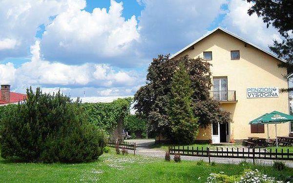 3 až 5 dnů romantiky se snídaněmi a saunou pro 2 na Vysočině v penzionu Vysočina