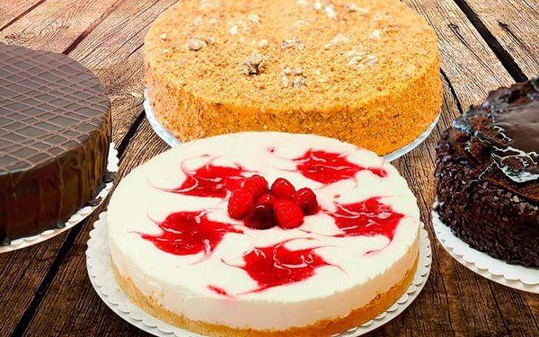 Ručně dělaný dort fantastické chuti