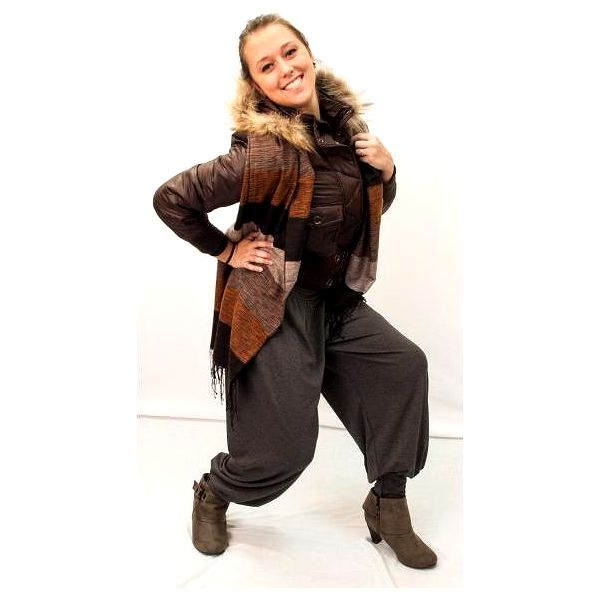 Harémové kalhoty na zimu - buďte in a zároveň v teple!