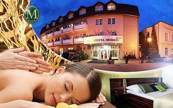 Romantika na 3 dny pro dva - plná penze, fitness, balneo procedury a wellness v Park hotelu Morris**** Nový Bor!