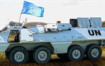 Prohlídka vojenské techniky a jízda v transportéru