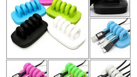 Silikonový pořadač na kabely