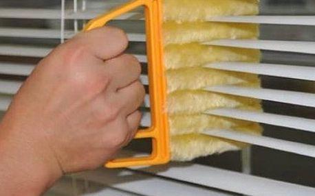 Pomůcka na čištění žaluzií