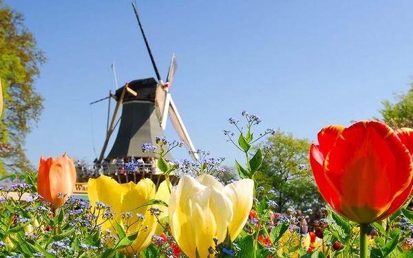 Víkendový výlet do jarního Amsterdamu i za tulipány