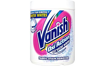 Vanish Oxi Action Crystal white odstraňovač skvrn 1000 g