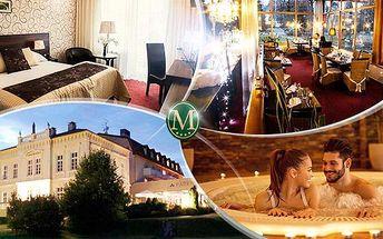 Hotel Morris**** Nový Bor - 5denní relax pro 2 osoby včetně plné penze + sauna, vířivka, aquapark a fitness!