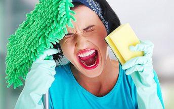 Profesionální úklid, mytí oken či žehlení v délce 3 hodin