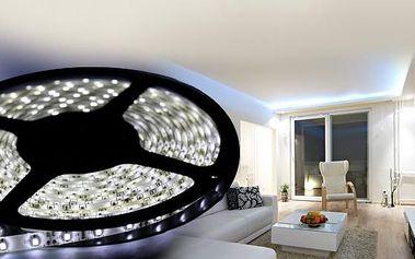 Bílé a barevné LED pásky do interiéru či vodotěsné do exteriéru se širokou nabídkou příslušenství!