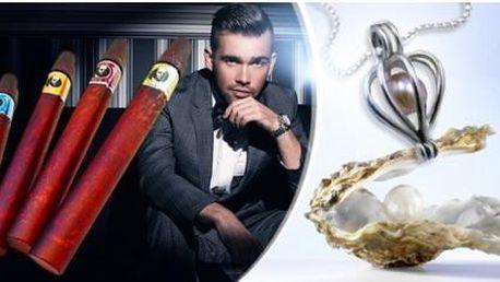 4 ks pánských parfémů ve tvaru doutníků nebo perla přání pro ženy včetně poštovného.