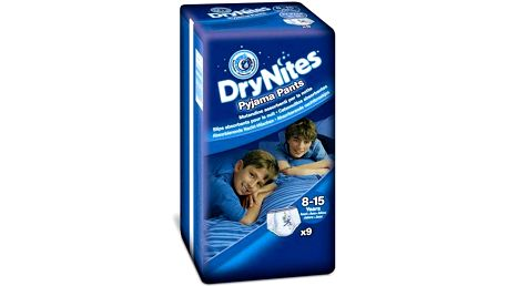 Huggies Dry Nites Large - Boys 27-57 kg, 9 ks