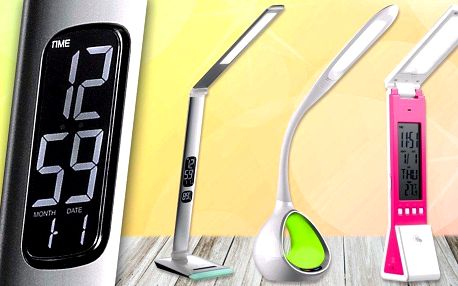 Stolní LED lampička nejen pro čtenáře