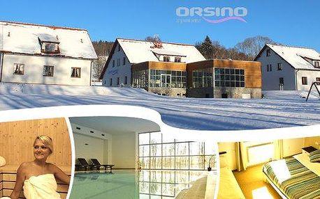 Luxusní wellness pobyt ve 4* hotelu Orsino na 3 nebo 4 dny pro 2 osoby!! Polopenze, vstupy do bazénu a sauny, welcome drink, slevy na skipasy, slevy navstupy do aquaparku a mnohem více!! Vychutnejte si odpočinek u lipenské přehrady!!