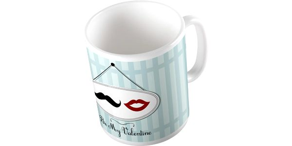 Keramický hrnek Be My Valentine, 375 ml