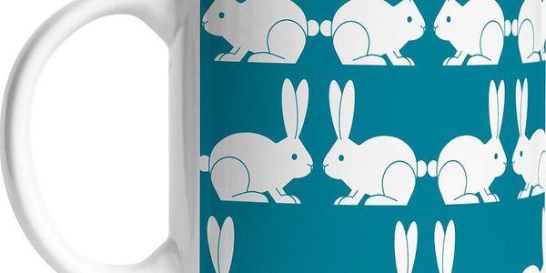 Keramický hrnek My Friend Bunny, 375 ml